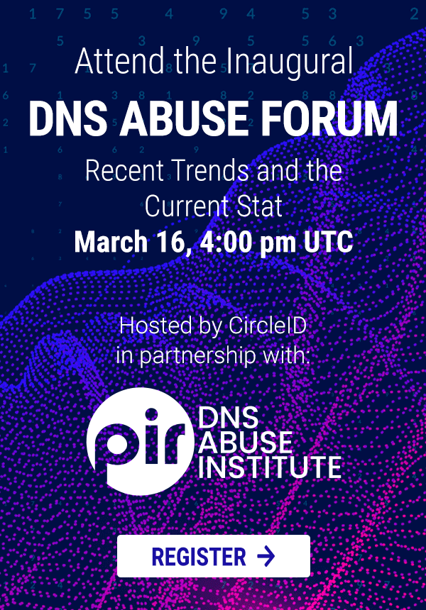 DNS Abuse Forum - March 16