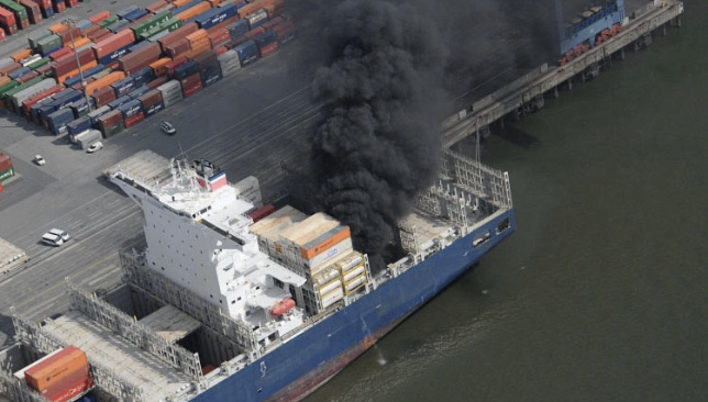 ICANN Update on Cargo Ship Fire that Destroyed Equipment Bound for ICANN57