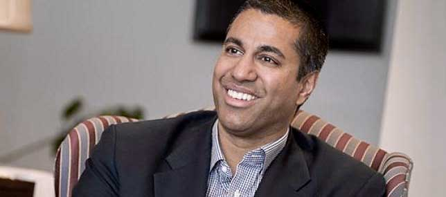 Trump Expected to Name FCC Commissioner Ajit Pai as Chairman