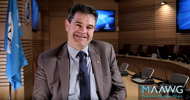 Interpol's Michael Moran Receives 2017 M3AAWG Litynski Award