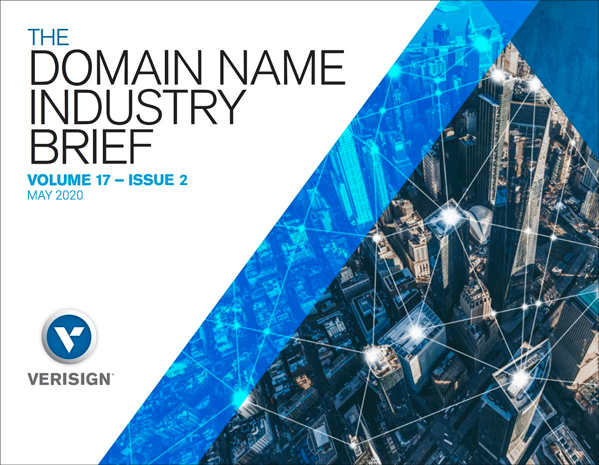 Verisign Q1 2020 Domain Name Industry Brief: Internet Grows to 366.8 Million Domains in Q1 of 2020