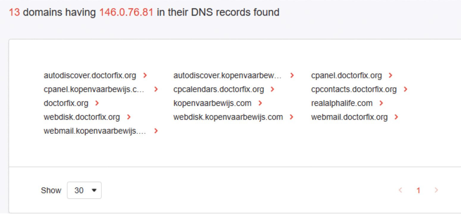 Beefing Up Third-Party Risk Management with Reverse DNS Search