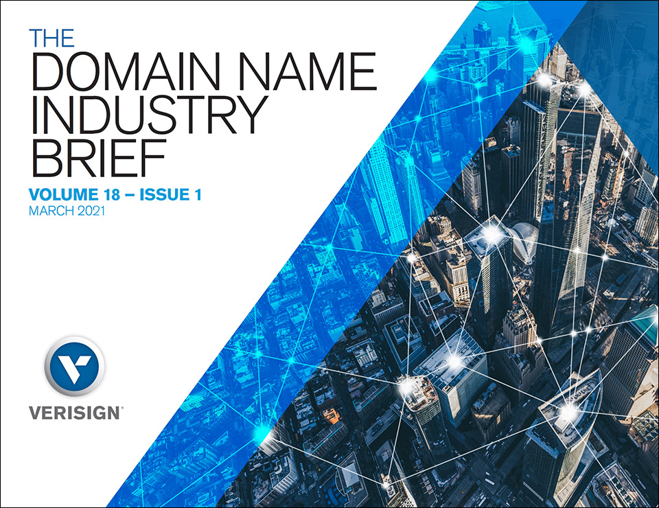 Verisign Q4 2020 Domain Name Industry Brief: 366.3 Million Domain Name Registrations in Q4 2020