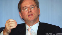 Google's Eric Schmidt: Internet Becoming a Cesspool Where Brands Are Increasing Important