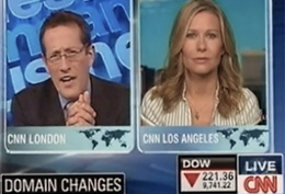 CNN Live Interview on Internationalized Domain Names