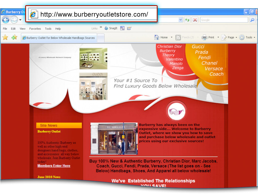 ec6cf67ff50a How Targeting Luxury Brands Online Results in Significant Traffic for Online  Scammers