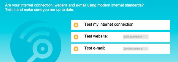 Internet.nl web site