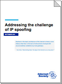 Can We Stop IP Spoofing? A New Whitepaper Explores the Issues