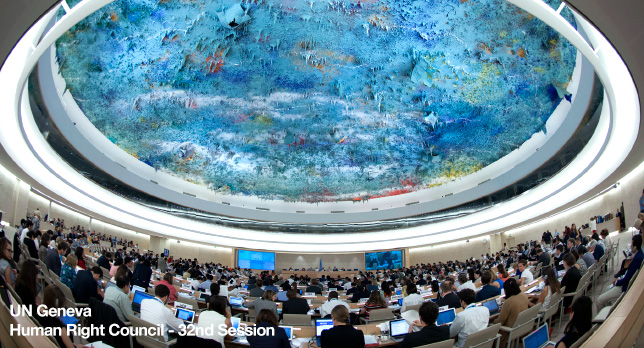 United Nations rights council condemns internet blocking