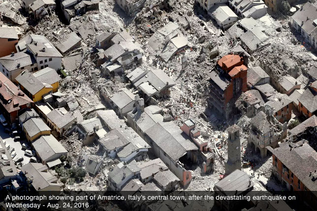 Italy's Earthquake Rescuers Ask Locals to Unlock Their Wi-fi to Assit in Search and Rescue